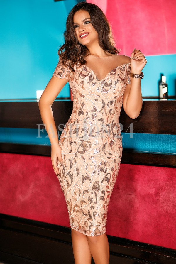 Rochie Noemy Pink New