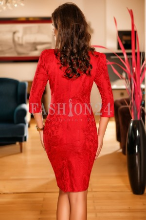 Rochie Emery Red