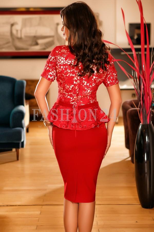 Rochie Eden Red