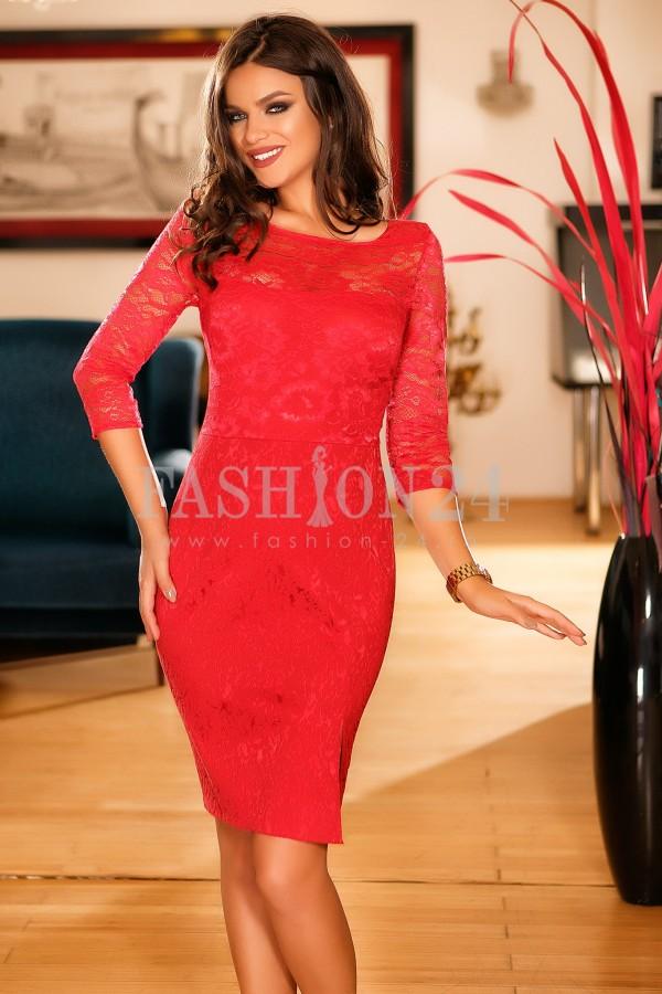 Rochie Sydney Red