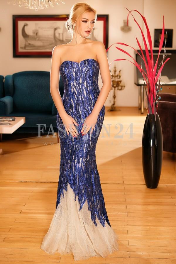 Rochie Noelle Blue