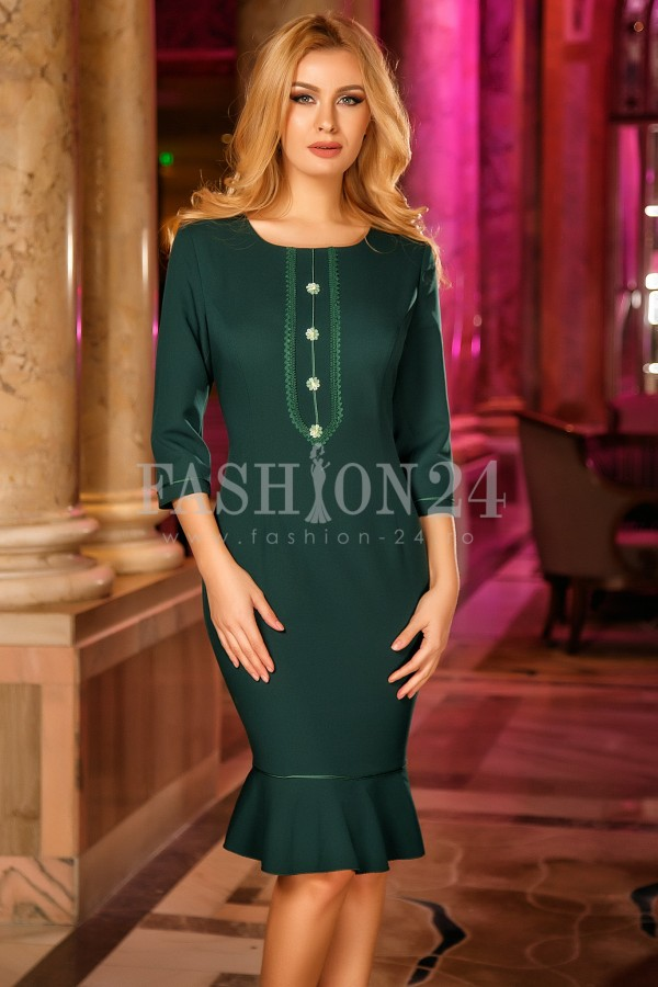 Rochie Adele Green