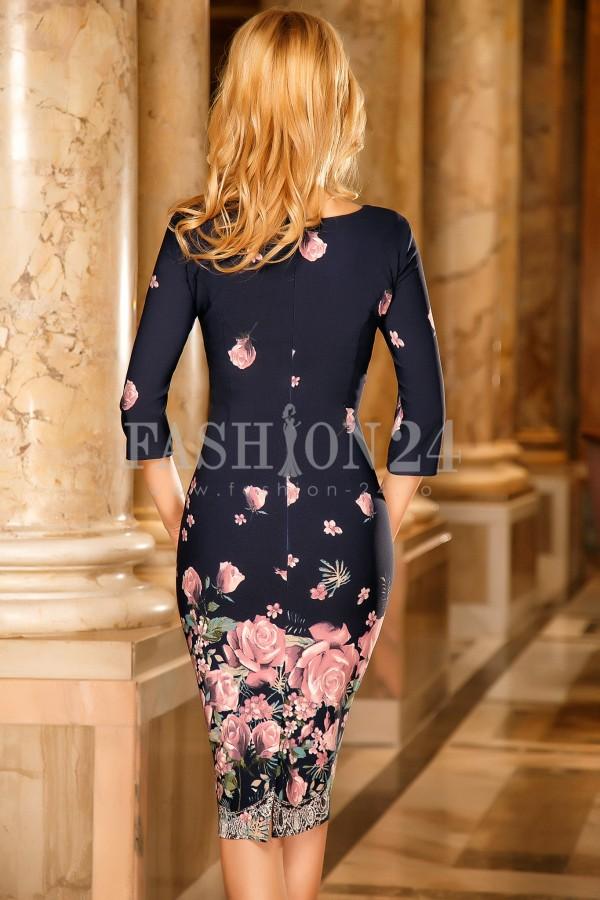 Rochie Yasmine Pink Flower