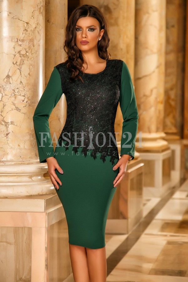 Rochie Kailey Green
