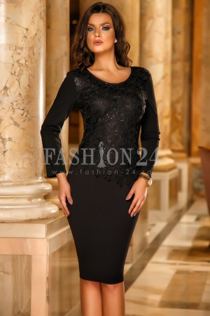 Rochie Kailey Black
