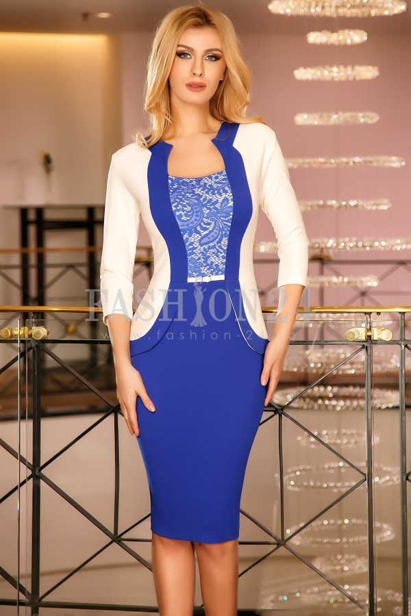 Rochie Melisa Blue