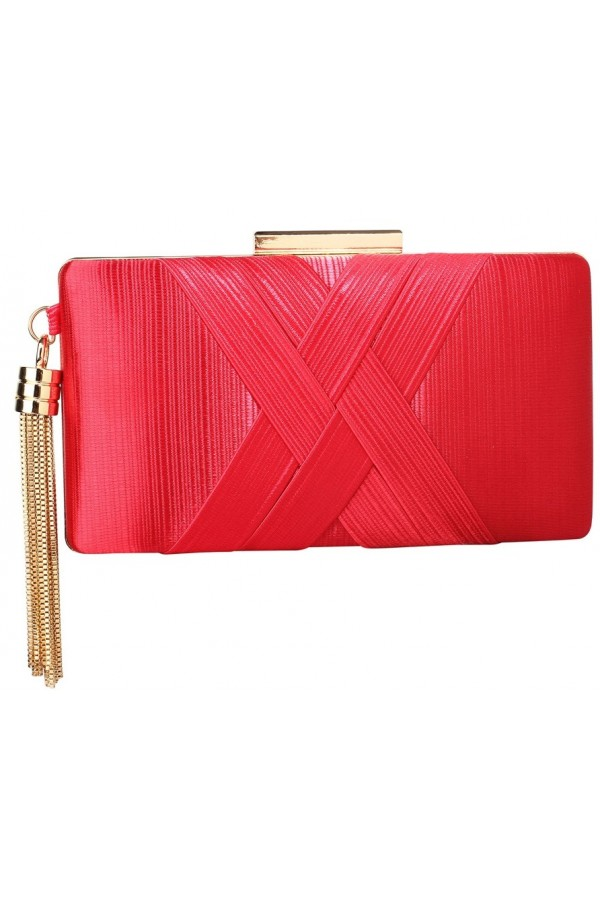 Clutch Madalynn Red