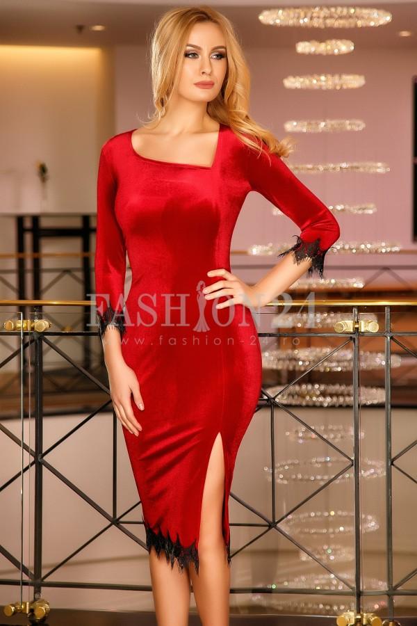 Rochie Ayesha Red