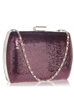 Clutch Rayne Purple