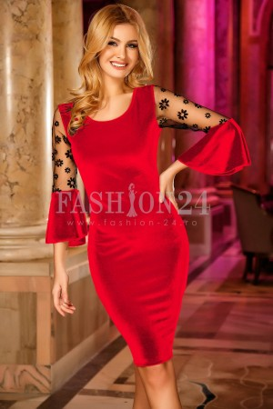 Rochie Madalyn Red