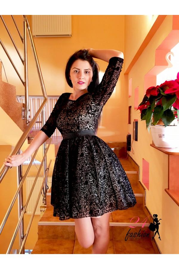 Rochie Black Stars