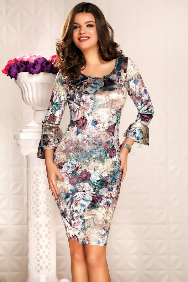 Rochie Yasmeen Multicolour
