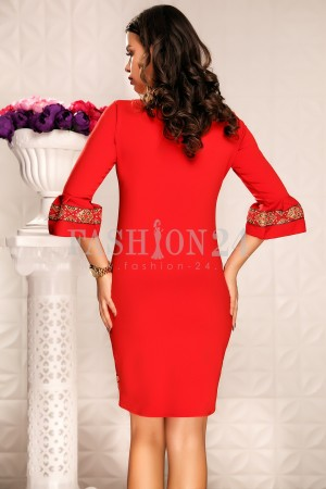 Rochie Kaila Red