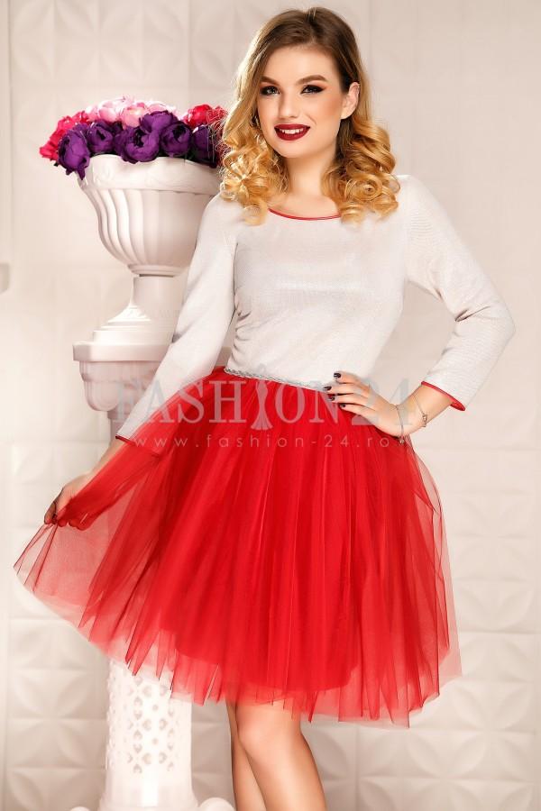 Rochie Aura Red