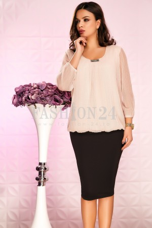 Rochie Ailyn Pale Pink