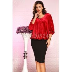 Rochie Ailyn Red thumbnail