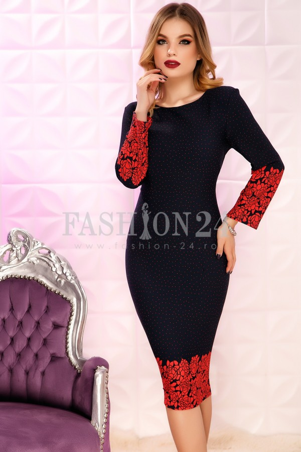 Rochie Reece Red