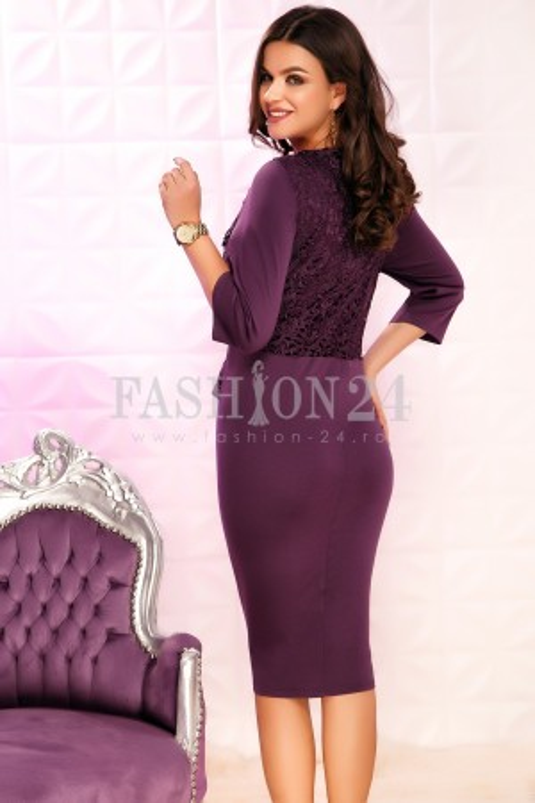 Rochie Ayden Purple