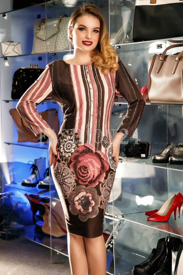Rochie Famous Rose