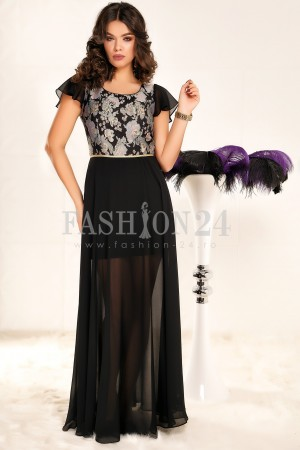 Rochie Lunga Betsy Black
