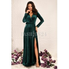 Rochie Lunga Ivey Green