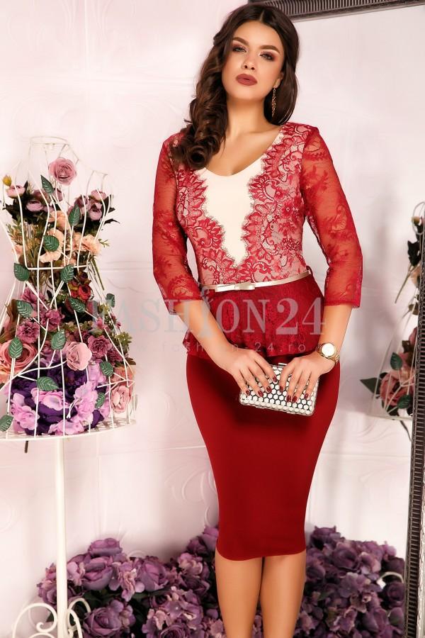 Rochie Malina Red