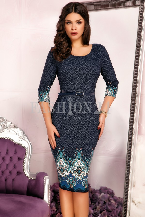 Rochie Perry Navy