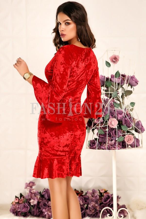 Rochie Jacey Red
