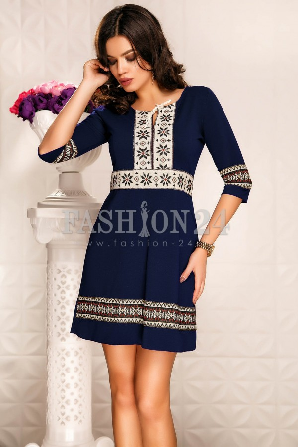 Rochie Aavya Navy