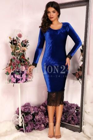 Rochie Blue Velvet