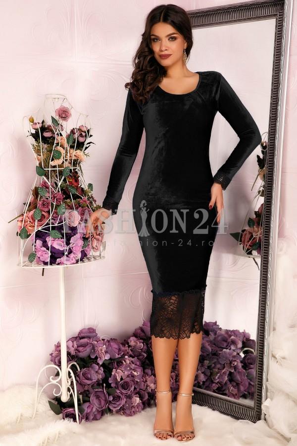 Rochie Black Velvet