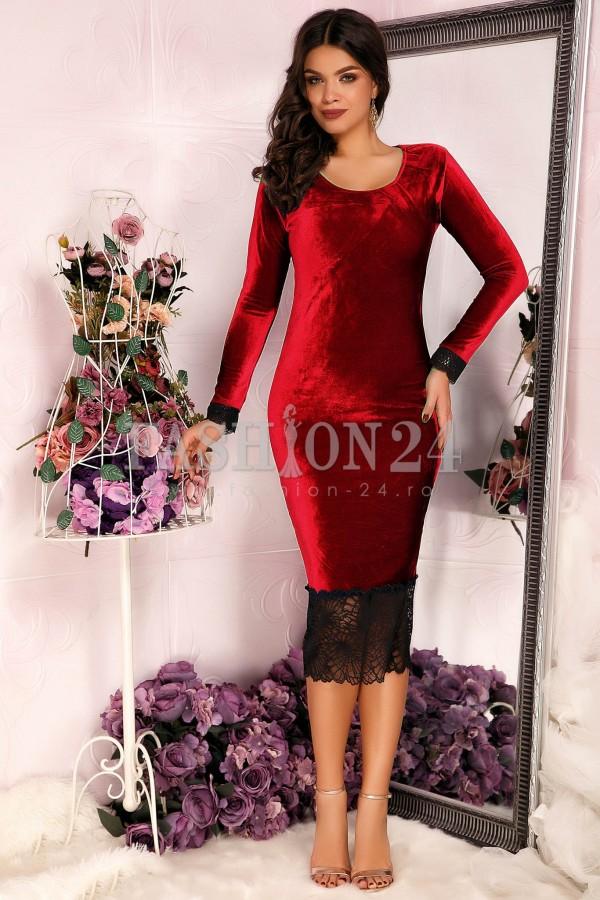 Rochie Red Velvet