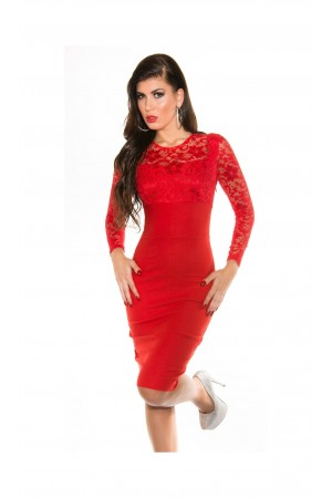 Rochie Beautiful Evening Red