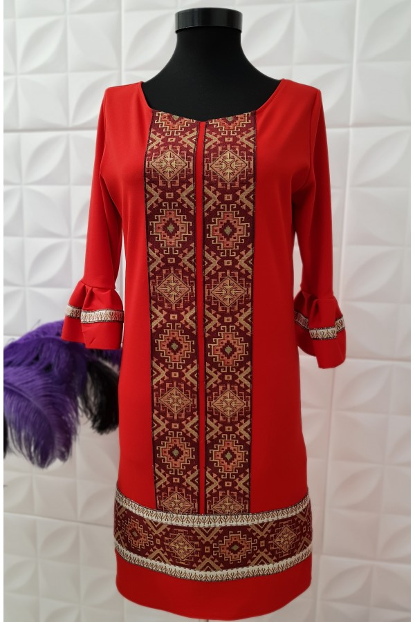 Rochie Kaila Red New