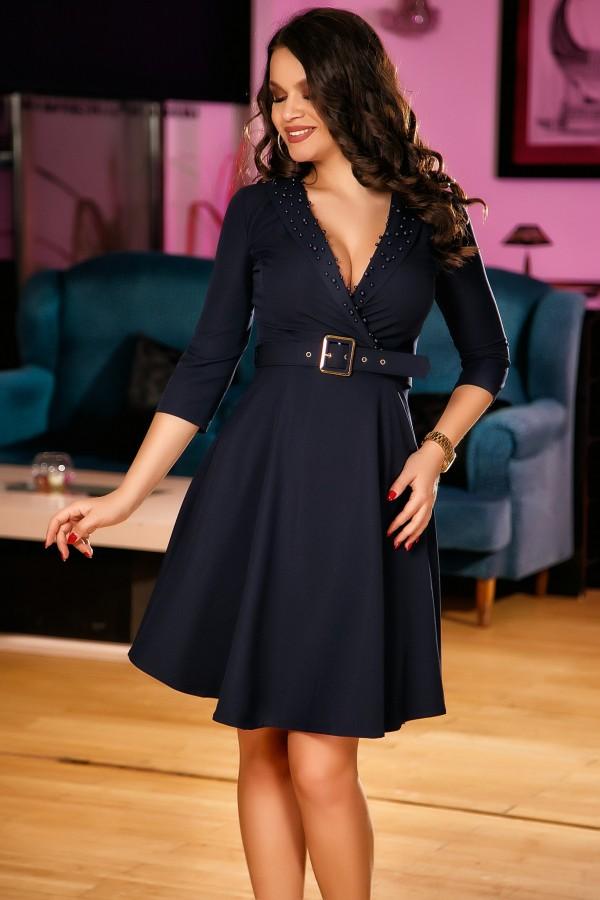 Rochie Linda albastra