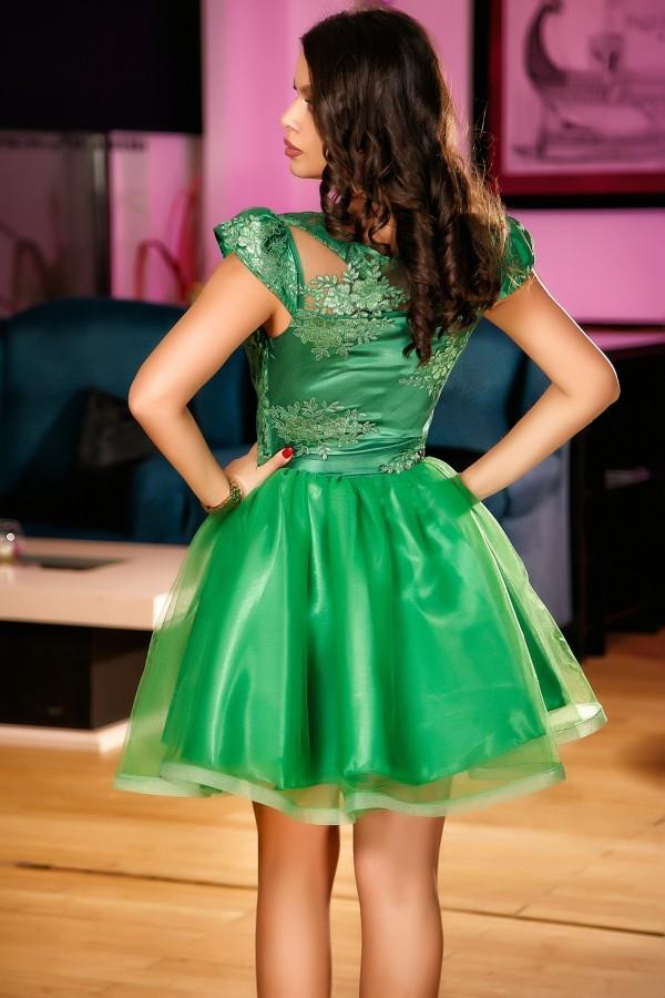 Rochie Raisa verde