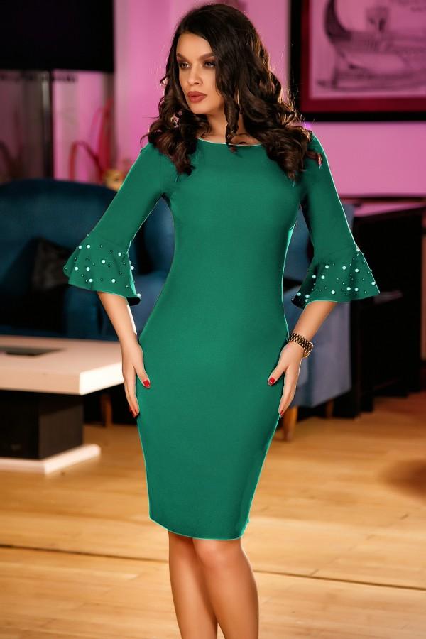 Rochie Selena verde