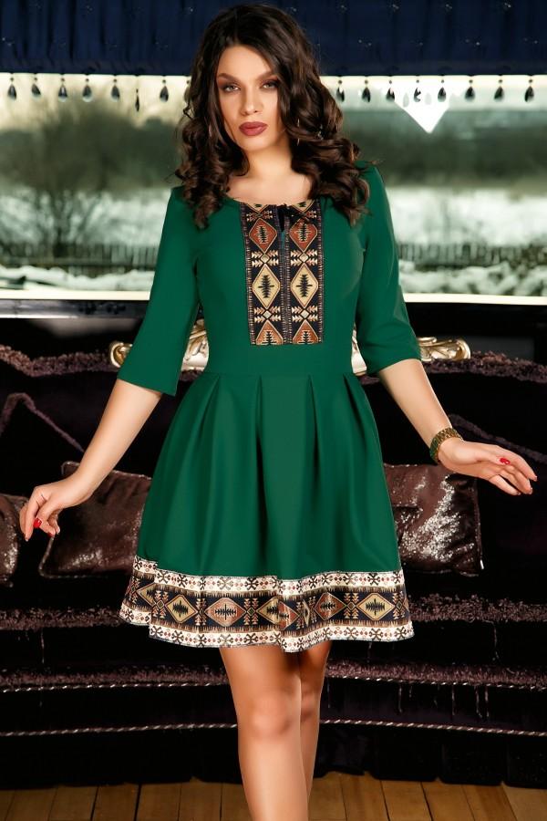 Rochie New Aavya Green