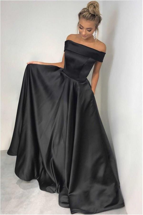 Rochie din Tafta Duchesse neagra