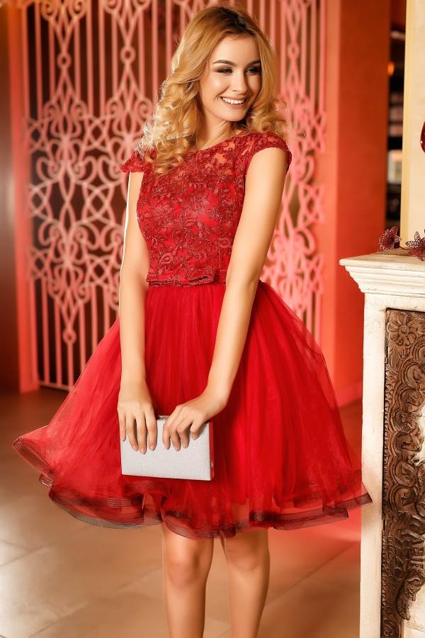 Rochie de seara Anais rosie