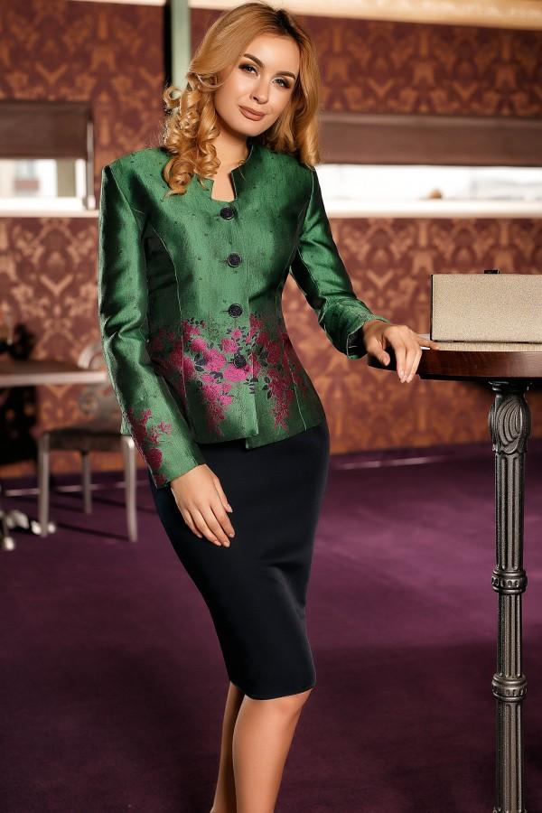 Compleu elegant Alina verde