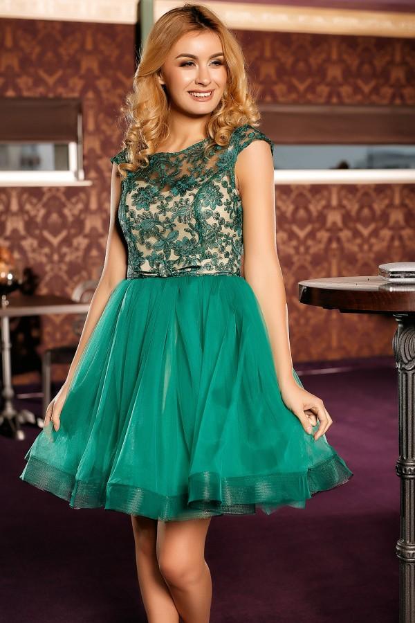 Rochie de seara Anais verde
