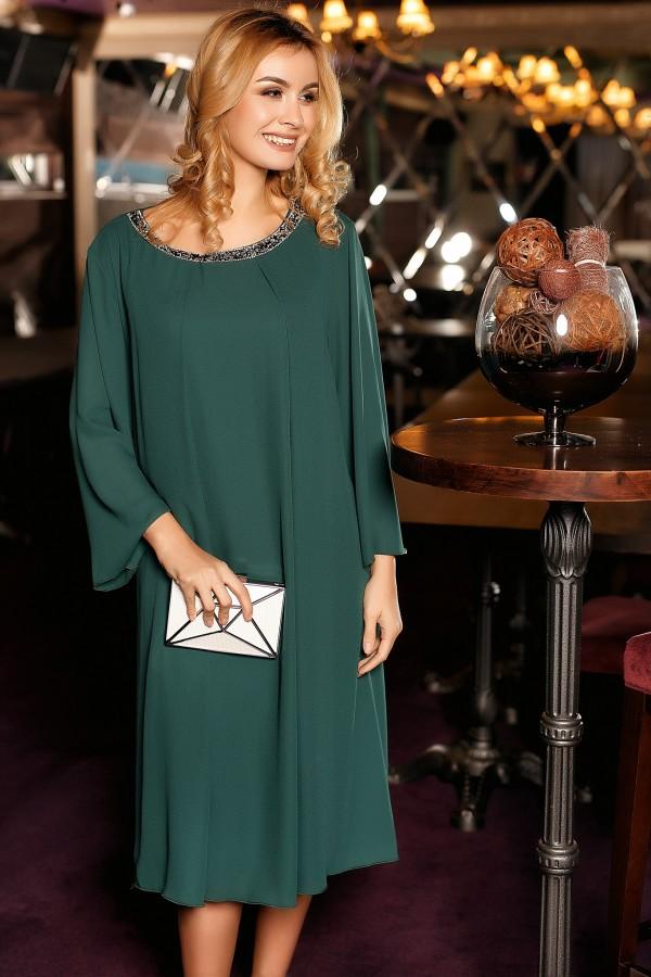 Rochie Celia verde