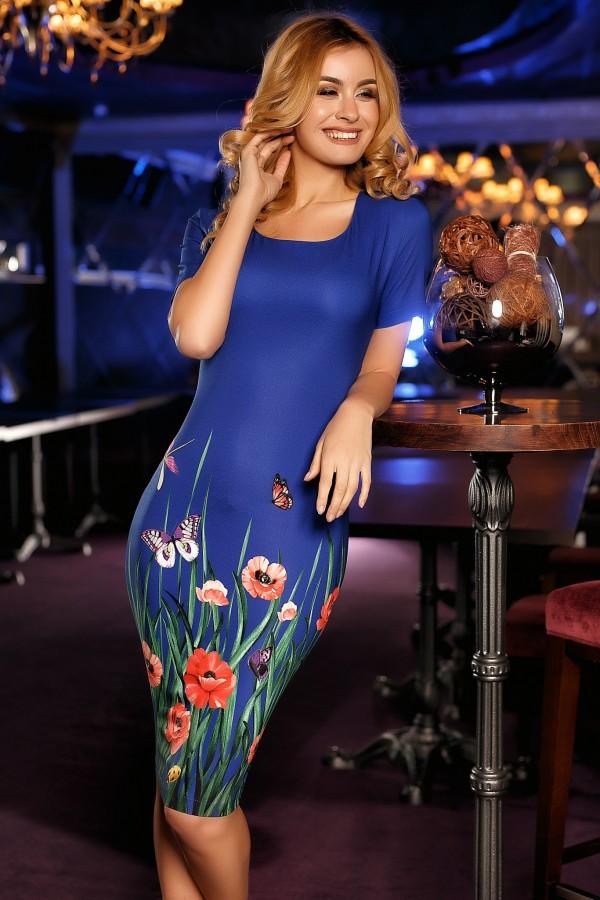 Rochie Anastasia albastra