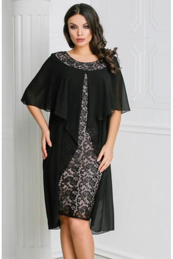 Rochie neagra eleganta Sofia