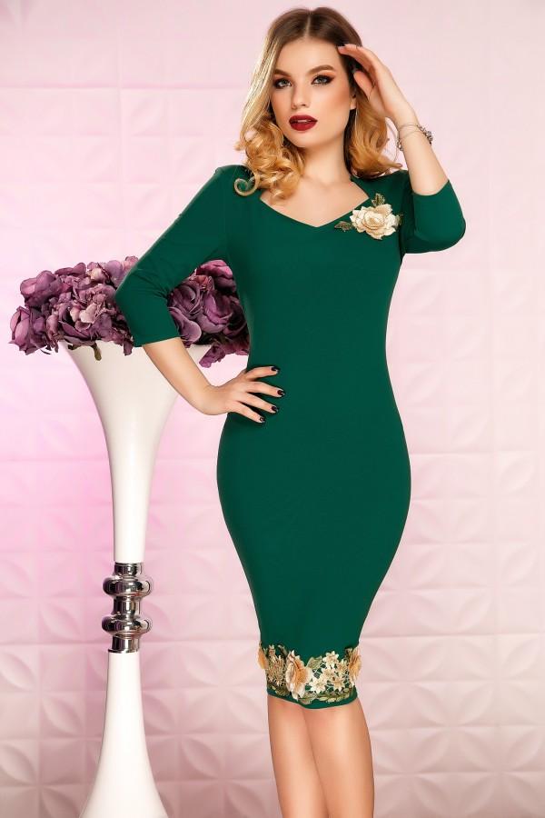 Rochie Tina verde