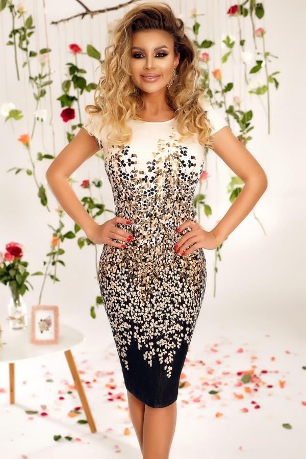 Rochie Eliada cu imprimeuri florale