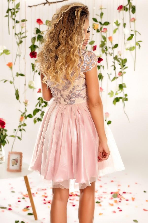 Rochie Clarissa roz
