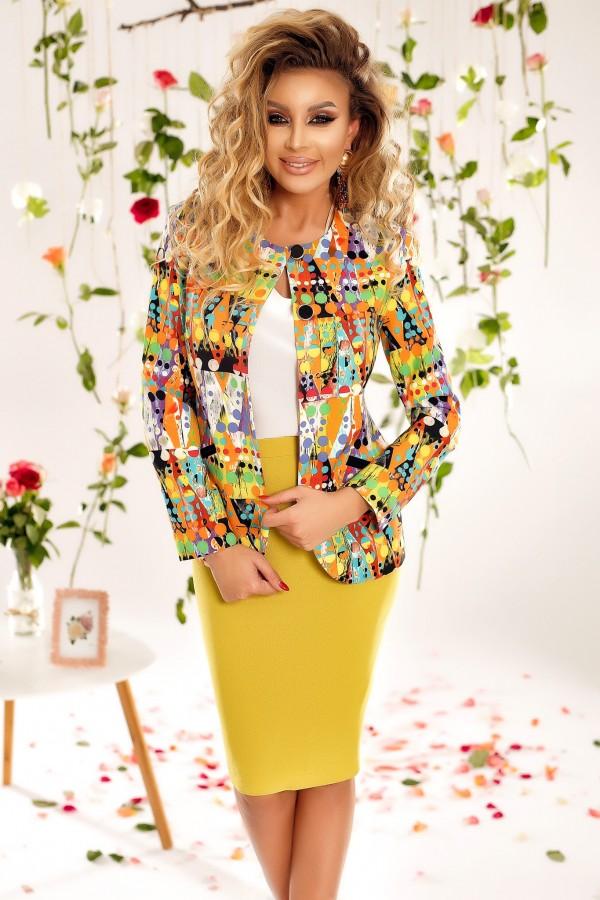 Magazin Online Haine - Compleu Adalia multicolor -Fashion-4u.Eu