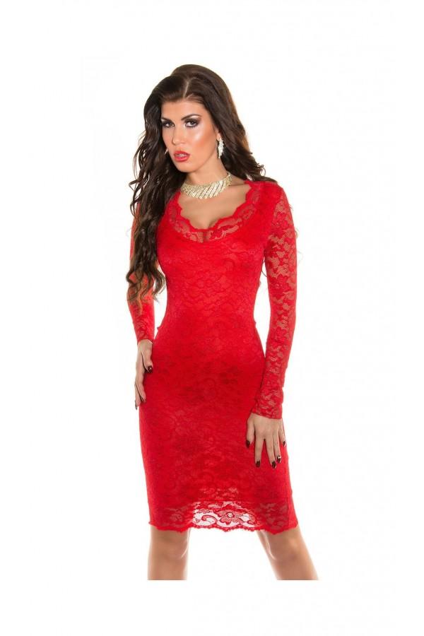 Rochie Red Mirage